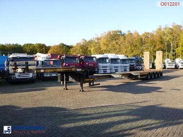 Faymonville4-axle semi-lowbed trailer STN-4AU / extendable 15.8 m