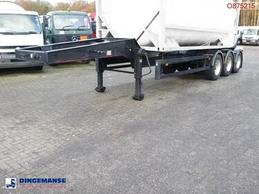 Sonstige3-axle tank container trailer 20 ft