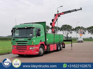 ScaniaP420 6x2 man. hmf1520-k3