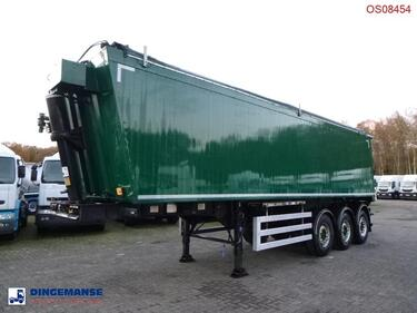 OtherTipper trailer alu 43 m3 + tarpaulin