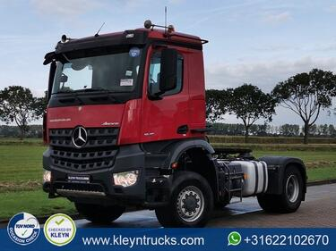 Mercedes BenzAROCS 1846 AS 4x4 steel tiphydr.