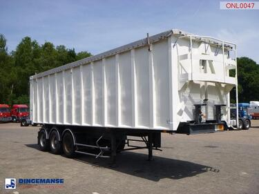 BenaluTipper trailer alu 49 m3 doors