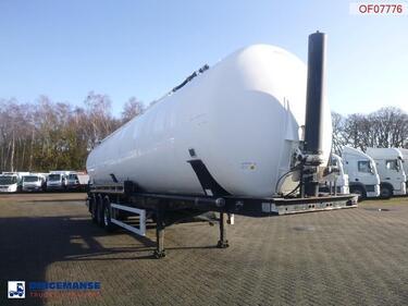 FeldbinderPowder tank alu 63 m3 (tipping)