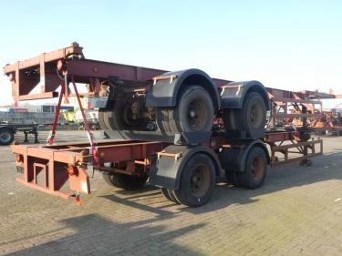 Pacton 40 FT 2 AXLES BPW full steel