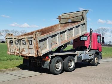ScaniaP114.340 6x4 manual steel