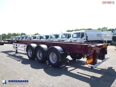 Sonstige3-axle container trailer 40 ft