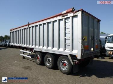 OtherTipper trailer alu 46.5m3 + tarpaulin