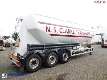 FeldbinderPower tank alu 49 m3 + engine/compressor