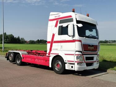 MAN26.540 TGX 6x2 manual euro 5
