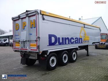 FruehaufTipper trailer alu 51m3