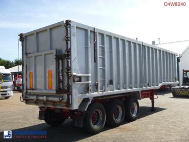 OtherTipper trailer alu 54 m3 + tarpaulin