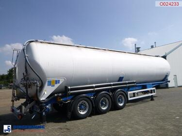 Feldbinder Powder tank alu 63 m3 / 1 comp (tipping)