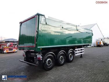 ДругоеTipper trailer alu 43 m3 + tarpaulin
