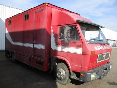 MAN9.150 , horse truck , manual , spring suspension
