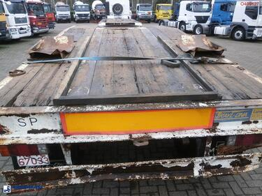 Other 3-axle dolly trailer / 62000 kg