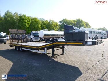 OtroAnt Artic 500 semi-lowbed trailer 10 m + winch + ramp (light commercial)