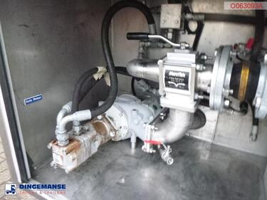 OtherFuel / oil tank inox 37.3 m3 / 11 comp + dual pump / counter