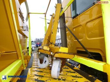 DafLF 55.220 4x2 RHD snow plough / salt spreader