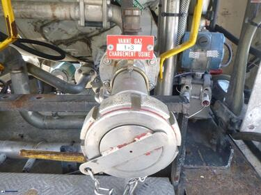 OtherCO2 gas tank steel (R28.6BN) 25.9 m3 + pump/counter