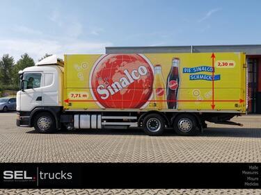 ScaniaG410 G 410 / Retarder / Lenkachse / Ladebordwand